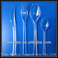 high quality heavy duty plastic camping cutlery