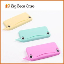 Silicon phone case 3d animal phone case for iphone/samsung/others