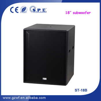 SPE Audio Prices Powered Subwoofer Speakers ST-18B