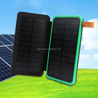 New design 10000mah solar mobile charger cover rohs manual