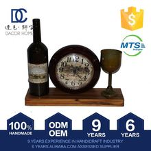 2015 New Design New Pattern 100% Handmade Table Trigger Quartz Antique Swing Clock Picture