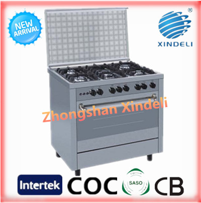 High quality good price baking oven with food tray sale bakery machines home gas oven