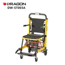 DW High capacity power motor disabled using emergency first aid electric stair climber wheelchair