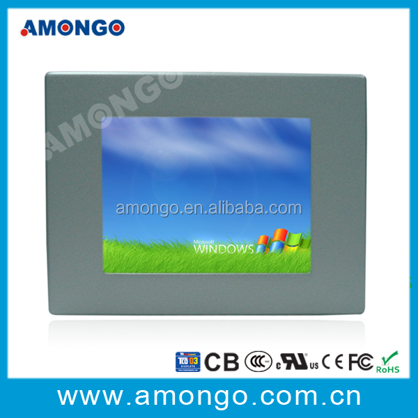 "6.5"" panel pc with industrial touch screen lcd monitor"