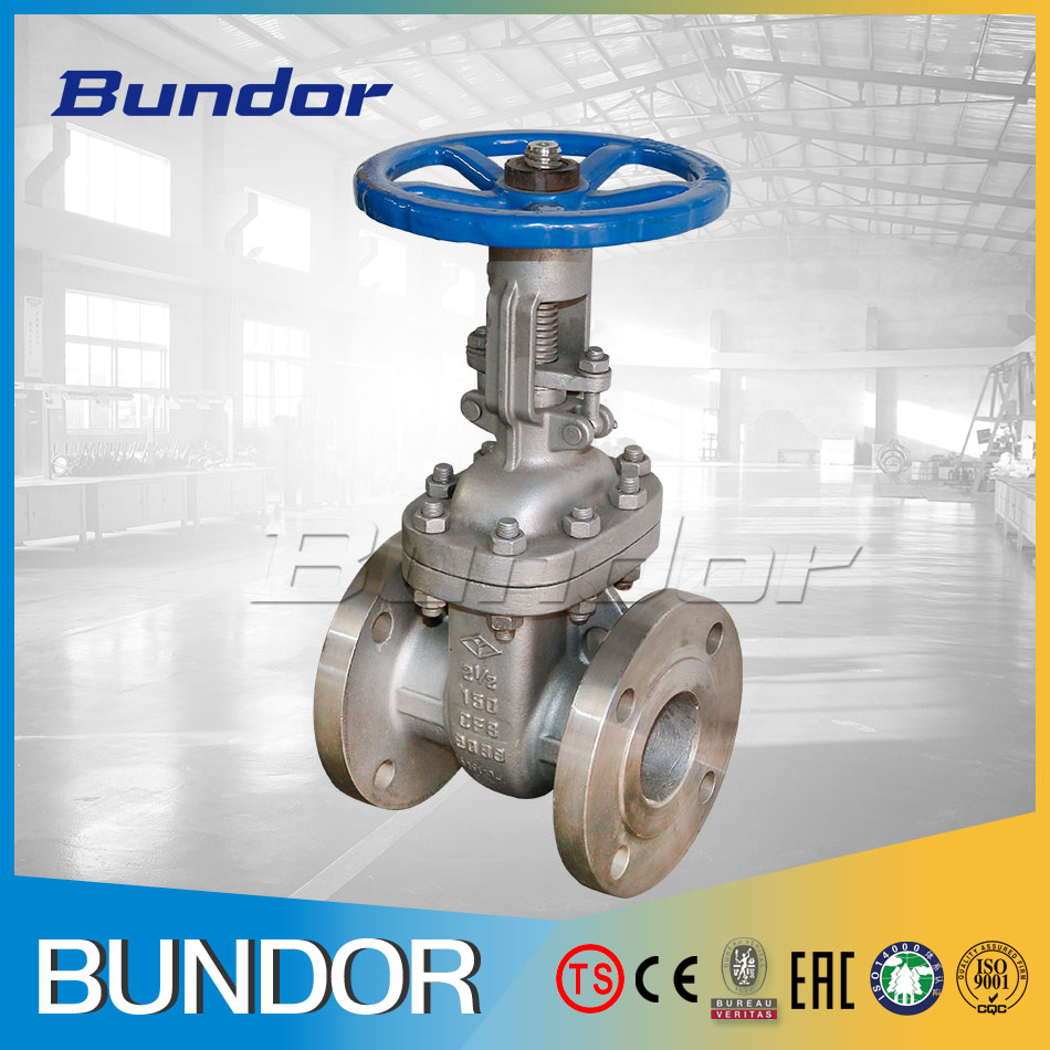 China suppliers dn150 pn10/16 ul fm stainless steel wcb chemical gate valve stem extension