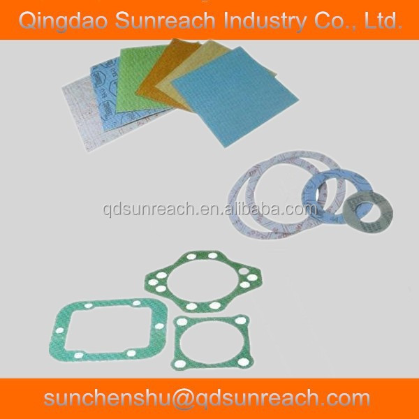 Oil Resistant Compressed Sealing Non Asbestos Gasket Sheet