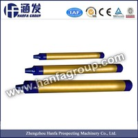 High air pressure DTH hammer and button bit drilling bit with DHD shank