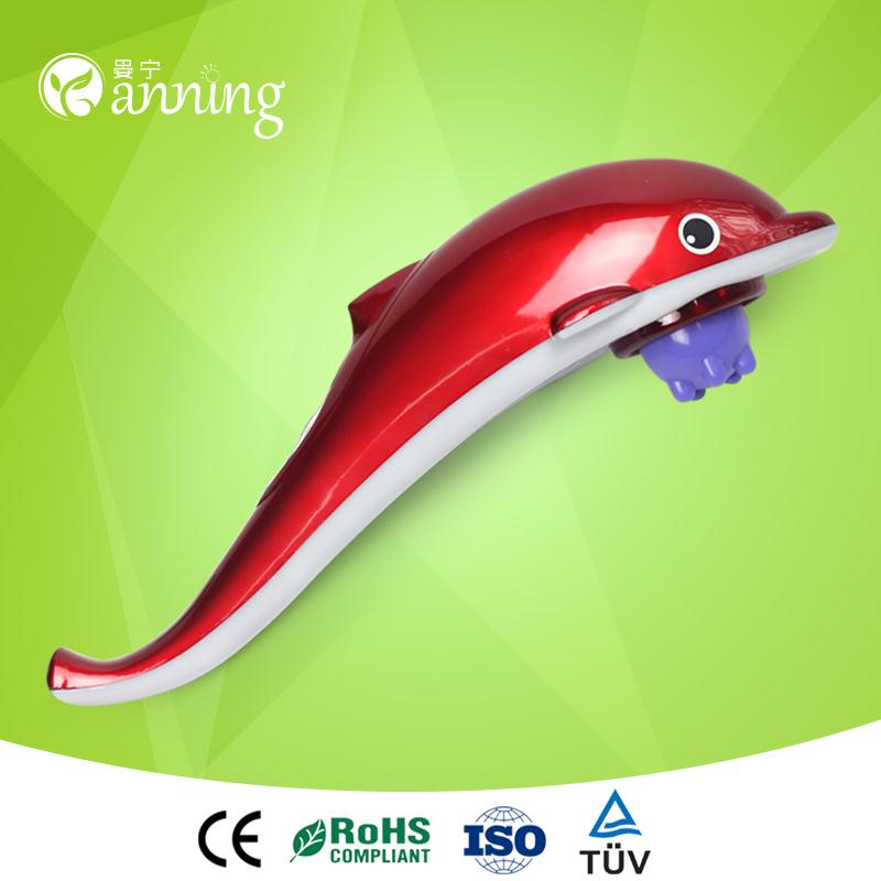 Best home healthcare cheap dolphin massage machine,cheap plastic handheld massager,cheap portable body massager