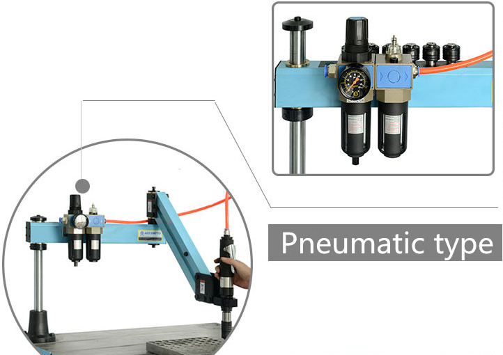 Touch automatic tapping Machine