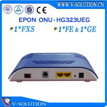 Gepon ftth 1fxs+1fe + 1ge onu cable optical fiber modem