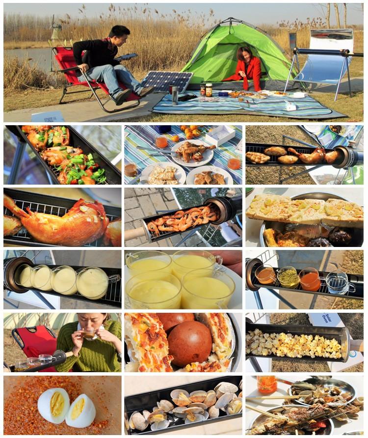 China venda Quente Família/Fora/Desfrutar Da Natureza Fogão Solar portátil/Grill/BBQ/Forno