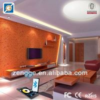 bluetooth wifi square induction modern ceiling light with wireless touch led controller