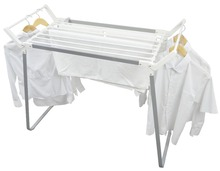 Outdoor Folding Metal Clothes Drying Rack for open air drying