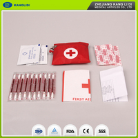 KLIDI Special Designed Auto Safety Bicycle Waterproof Medical Emergency First Aid Kit