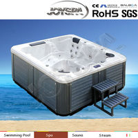 Best selling family use hot tub, swimming pool cover, plastic bathtub for adult - JY8016(factory)