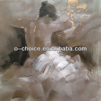 Modern Decorative Nude Women Oil Painting Abstract