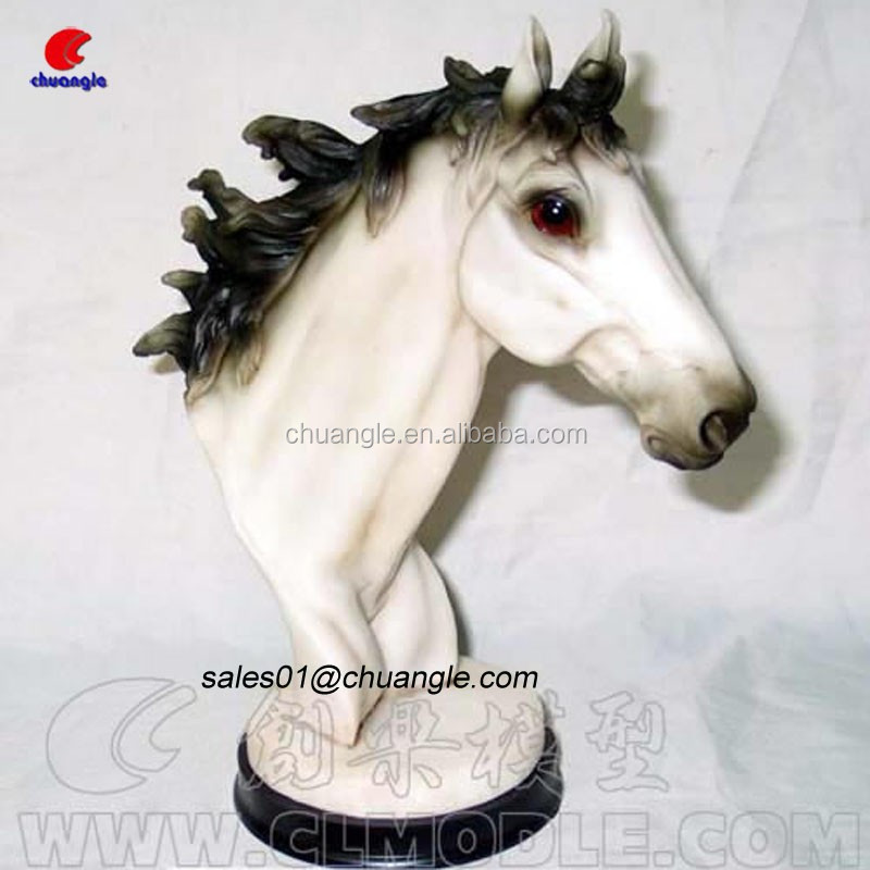 Resin Horse Head Decoration Crafts