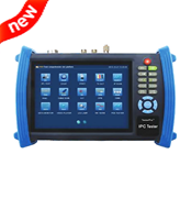 CCTV camera tester IP tester with SDI Camera image function test IP86S