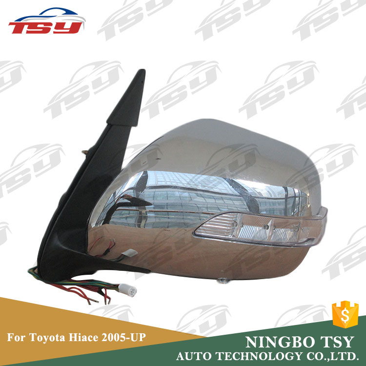 Wholesale Custom Auto ABS Electric Side Mirror For Toyota Hiace 2005-UP