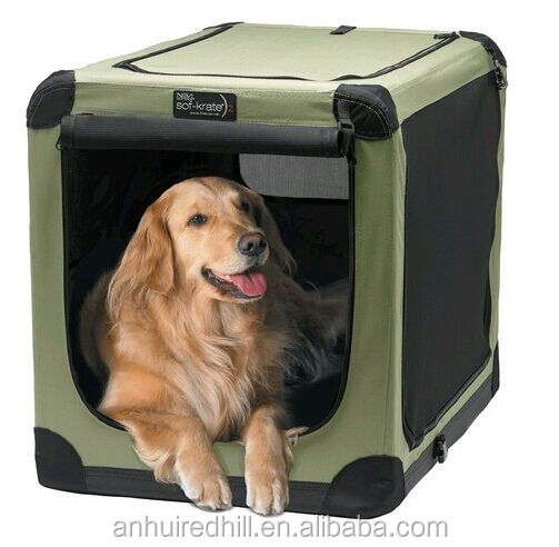 Good design Dog Crate Pet Carrier Dog Kennel soft crates