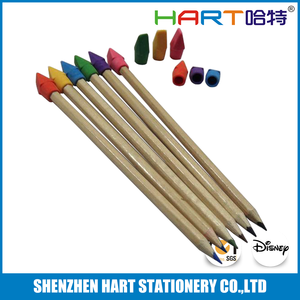 Promotional Pencil Cap Toppers Eraser