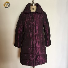 Luxury workmanship high quality coat woman winter
