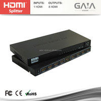 High Quality HDMI Splitter 1x8 1 HDMI 8 output Port and 7 RJ45 Output Ports hdmi switches