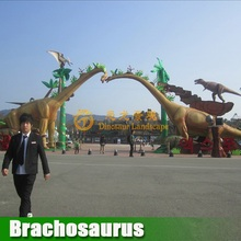 Attraction! amusement based equipment robotic animatronic dinosaur