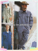 Plain cotton workwear overall