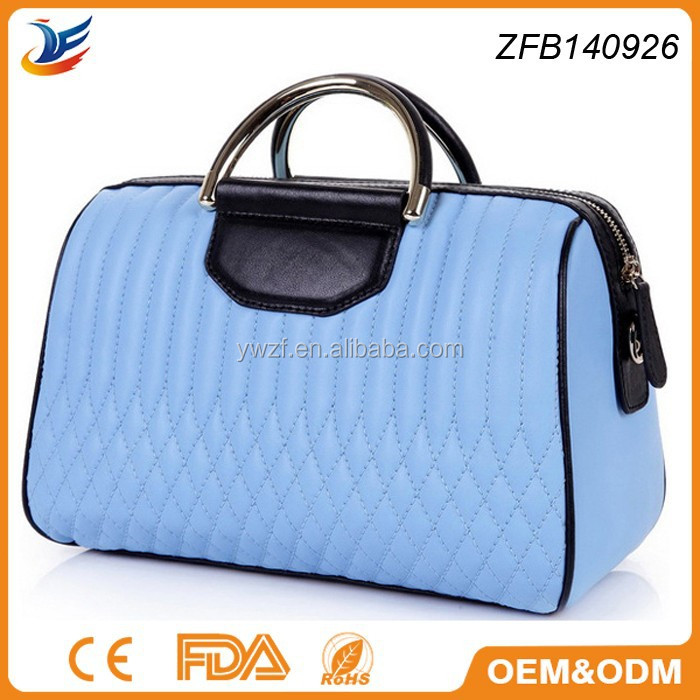 popular new design handbag style sheep leather bag