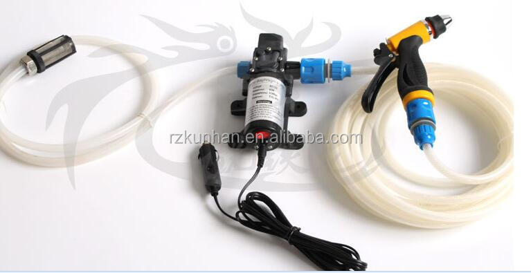 portable mini electric Self-priming 12v dc water pump for car washing