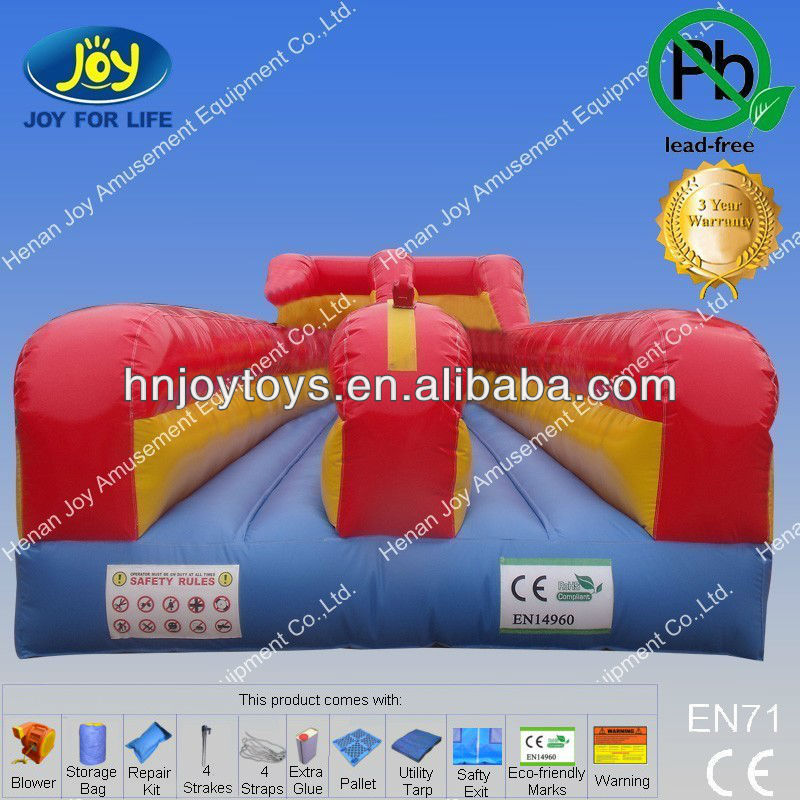 2013 hot sport games inflatable bungee run