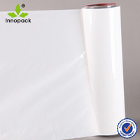 White anti uv PE plastic silage film high quality for grass packing