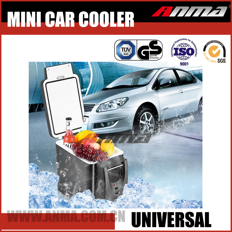 4L electric portable DC car cooler box 12v refrigerator mini fridge
