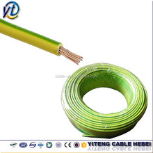 1.5mm Copper Conductor Stranded Earth Cable Green Yellow loop cable wire
