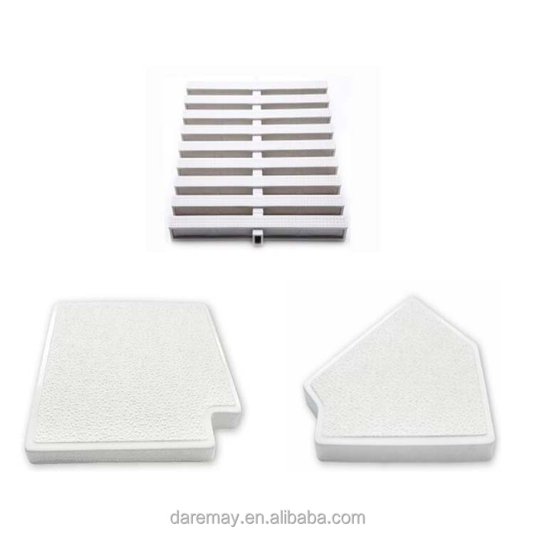 Swimming pool one hole pvc overflow grating/swimming pool floor grating/pool cover grating