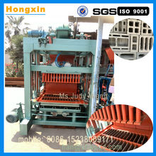 Italy automatic hydraulic clay concrete sand cement fly ash hollow block brick making machine for sale JX4-22