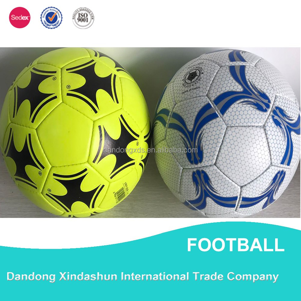 Customized logo and printing butyl bladder football