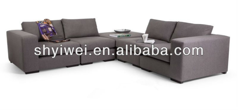 2013 Moden New Design Fabric Corner Sofa for Living Room Furniture