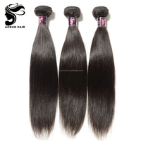 Natural Straight Virgin Hair Bundles Quality Indian Virgin Remy Hair For Sale
