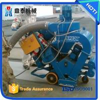 Clean warehouse floors road surface shot blasting machine, portable shot blasting machine for concrete