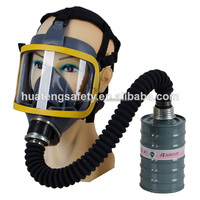 Hot sales silicone rubber gas mask helmet