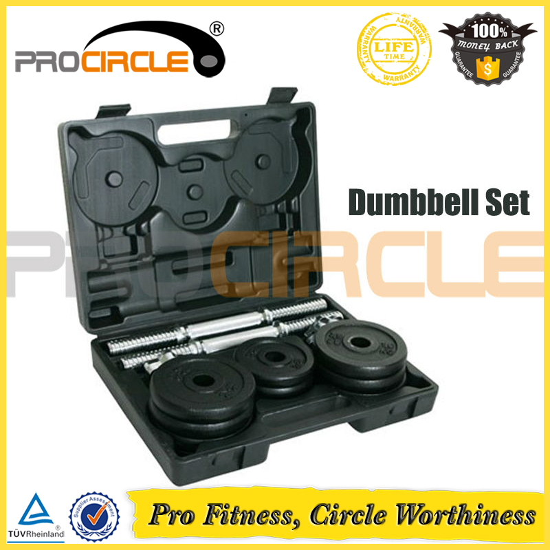 Gym Equality Weight Adjustable Dumbbell Set for Sale