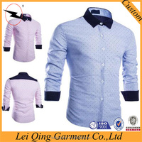 2016 latest shirts for men pictures/men casual shirts green pattern shirts/fashion shirts