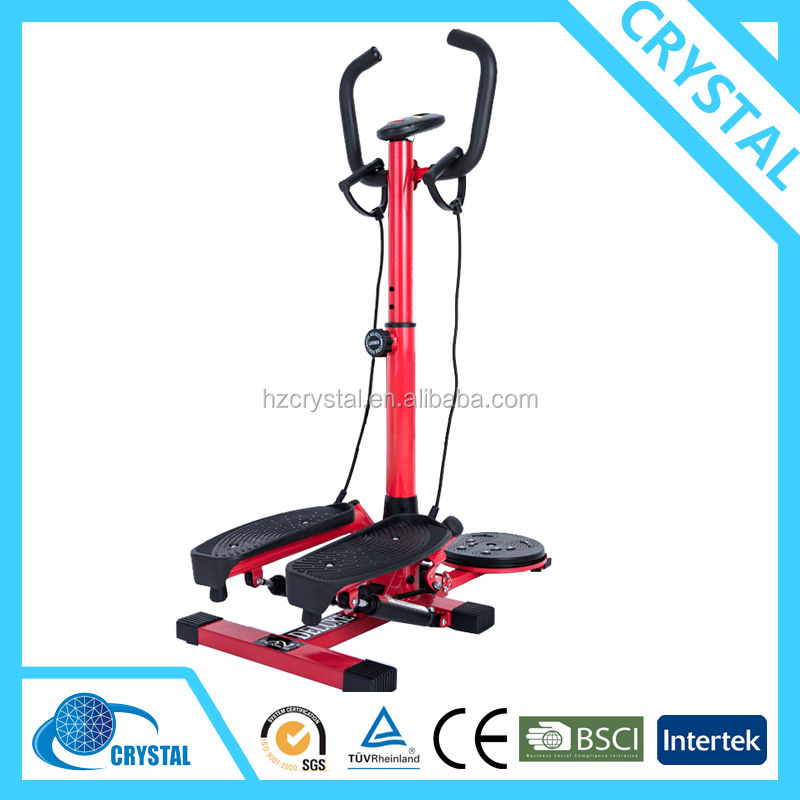 SJ-234-1 Best Selling Body Fitness Equipment Swing Stepper with Handlebar