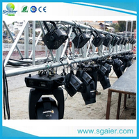 Aluminum lighting truss lifting/curved truss led light /lighting tower truss