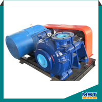 Centrifugal horizontal solid waste slurry pump