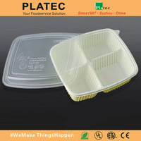 China made high quality fast food tray, plastic food container, food tray