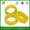 Plastic rubber corrugated mounted wall hose pipe