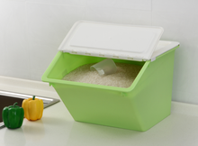 plastic PP rice box plastic rice container with a rice cup
